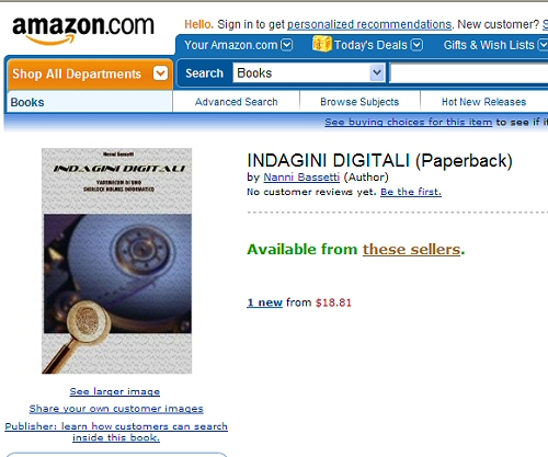 Amazon indagini digitali